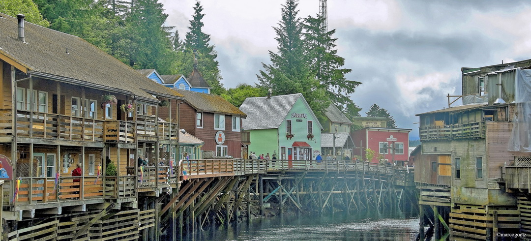 CREEK  STREET KETCHIKAN ALASKA
